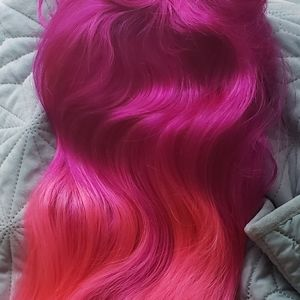 Accessories - Synthetic Two Tone Wig